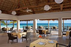 The Market Cafe will make the perfect location for your reception. #SecretsAuraCozumel #Mexico #DestinationWedding