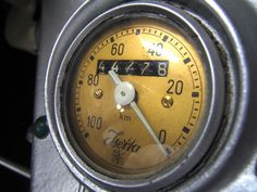 Isetta speedometer