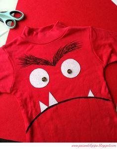 El monstruo de los colores - Disfraz fácil hecho a mano | pasándolo pipa | Bloglovin'
