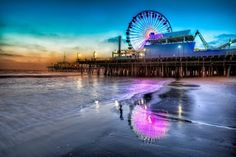 Santa Monica Pier- my favorite place