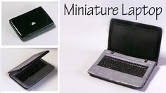 Hey Guys! Today we're making a miniature laptop for a dollhouse :) I made mine using Black and grey clay, but you can use any colors you want, add more detai...