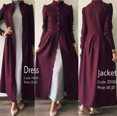 I like the high buttoned neck, yet all the extra fabric in the skirt part, Stunning. I like the high buttoned neck, yet all the extra fabric in the skirt part, Abaya Fashion, Muslim Fashion, Modest Fashion, Indian Fashion, Fashion Dresses, Kurta Designs Women, Blouse Designs, Abaya Mode, Hijab Stile