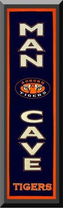 Heritage MAN CAVE Banner Of Auburn Tigers -Framed Awesome & Beautiful-Must For A Championship Team Fan! Most College Team Banners Available-Plz Go Through Description & Mention In Gift Message If Need A different Team Art and More, Davenport, IA http://www.amazon.com/dp/B00KYK7Z5Y/ref=cm_sw_r_pi_dp_xtbEub17AKHDC