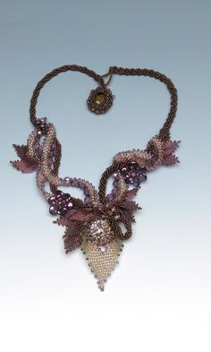 Jewelry Design - Multi-Strand Necklace with Seed Beads, Glass Beads and Swarovski Crystal Beads - Fire Mountain Gems and Beads