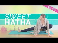 Join me for Hatha Yoga for Hips routine. Stretch and breathe deep in this gentle beginners hatha yoga class as you open your hips, hamstrings and lower back . Meditation Videos, Yoga Meditation, Online Yoga Teacher Training, Yoga Playlist, Hip Opening Yoga, Yoga Sequence For Beginners, Yoga Sculpt, Yoga Journal, Free Yoga