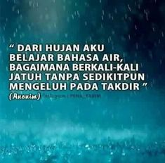 best kata hujan images in quotes quotes rindu cinta quotes