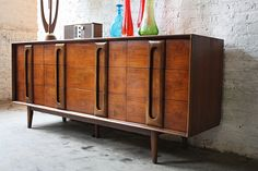 Mid-century dresser - nice retro classic. Since studying design, contemporary and modern pieces are growing on me.