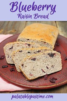 Blueberry Raisin Bread
