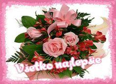 všetko najlepšie Send Flowers Online, Order Flowers, Bunch Of Flowers, Faux Flower Arrangements, Beautiful Flower Arrangements, Beautiful Bouquet Of Flowers, Unique Flowers, Bulb Flowers, Faux Flowers