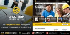 Download Spectrum v3.0.1 - Multi-Trade Construction Business Theme Nulled Latest Version