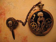 Dark Steampunk Jewellery by Amanda Scrivener, via Flickr