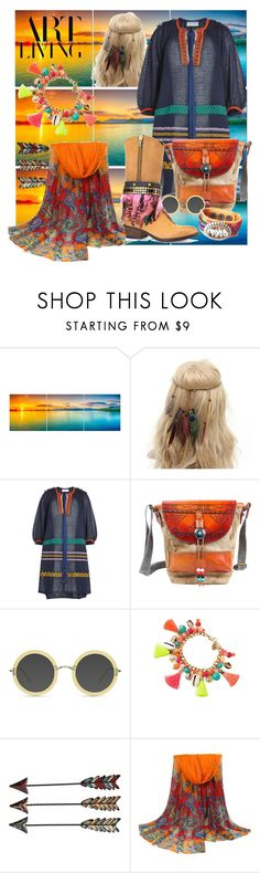 """The art of living"" by j477 on Polyvore featuring мода, Sonia Rykiel, TSD, Ace, Lilly Pulitzer, WithChic, contest, boho и hippy"
