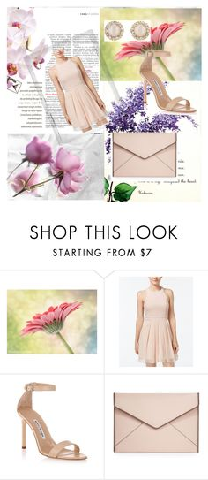 """""""&My style&"""" by selmamehic ❤ liked on Polyvore featuring Polaroid, Trixxi, Manolo Blahnik, Rebecca Minkoff and Kate Spade"""