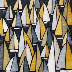 Art2Arts Artist: Simon Fairless, Regatta Week - £425.00