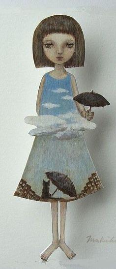 Muñecas de papel… Maki Hino