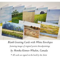 Blank Greeting Card No.6 with Envelope Featuring by mysweetprairie