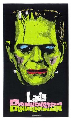 """Print Mafia's """"Lady Frankenstein"""" print"""