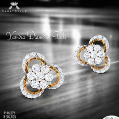 #Diamonds will always express you better. #earring #gifting