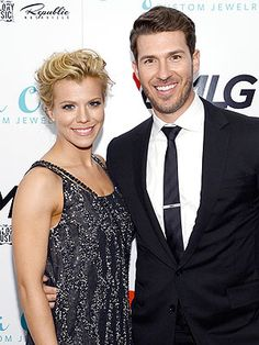 Kimberly Perry from THE BAND PERRY and her husband the Texas Rangers catcher, J.P. Arencibia