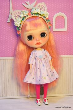 Dress for Blythe Icy pullip or similar by JanisasCouture on Etsy