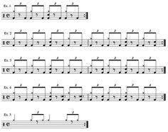 tom brechtlein lesson - Half time drum shuffles