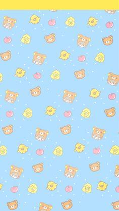 Rilakkuma (Relax bear) is a character by the Japanese company San-X Tag Cute Wallpaper Backgrounds, Animal Wallpaper, Pattern Wallpaper, Iphone Wallpaper, Phone Backgrounds, Kawaii Cute Wallpapers, Kawaii Wallpaper, Cute Lockscreens, Rilakkuma Wallpaper