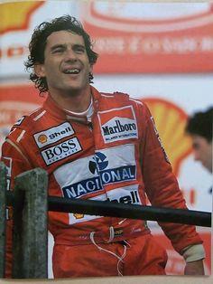 Ayrton Senna - o mito, a lenda, uma legenda, eterno, insubstituível, ousado, dedicado...