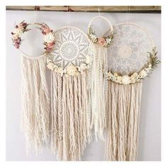 Adorable dream catcher decorations  Boho, shabby chic