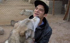 Tyler visits rescued wolfdogs! How you can help: http://on.mtv.com/RIAqNW