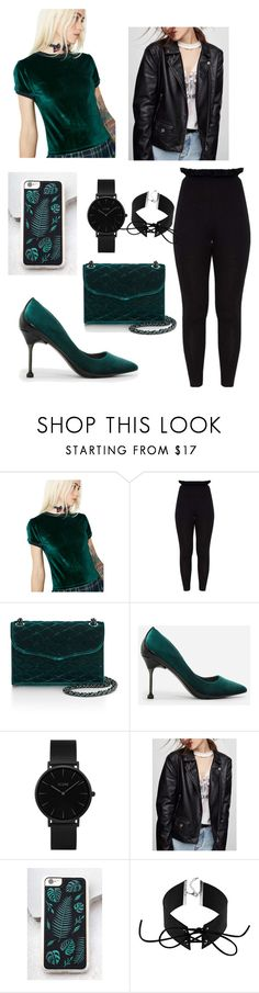 """Velveteen"" by apricoto on Polyvore featuring Honey Punch, Rebecca Minkoff, CHARLES & KEITH, CLUSE, Zero Gravity and Mudd"