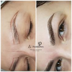 Phibrows Royal Artist Derby Microblading Semi permanent eyebrows