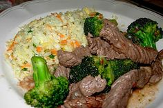 CFSCC presents: EAT THIS!: Broccoli & Beef Stir Fry With Fried Cauliflower Rice