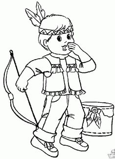 Native American Day Coloring Pages Sheets For Kids Free Multi