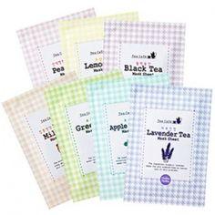 [Holika Holika] Tea Cafe Mask Sheet 22ml