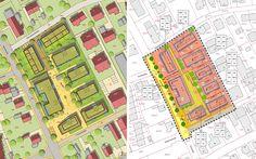 """Städtebaulicher Entwurf und Bebauungsplan """"Thürrauch-Areal"""", Bebauungsplan/Lageplan"""