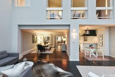A modern and contemporary - yet comfortable - living space