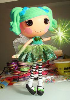 Lalaloopsy Forest Fairy Dress by ElwynnHarper, via Flickr