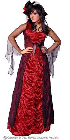 Countess of Darkness Vampire Costume $65.00