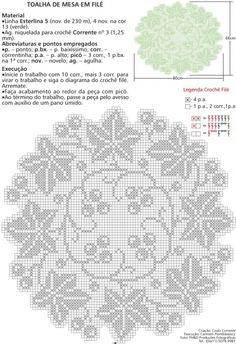centrino filet   Hobby lavori femminili - ricamo - uncinetto - maglia