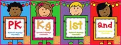 All Y'all Need: PK, Kg, 1st and 2nd Checklists for SLPs - A Redo $