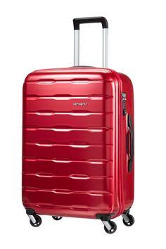 Spin Trunk Red 69cm #Samsonite #SpinTrunk #Travel #Suitcase #Luggage #Strong #Lightweight #MySamsonite #ByYourSide