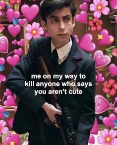 good afternoon ❤ also, sorry for not posting yesterday, some stuff happened, and it just wasn't my day. Cute Memes, Funny Memes, Heart Meme, Under My Umbrella, Cute Actors, Number 5, Baby Quotes, Wholesome Memes, Baby Girl Gifts