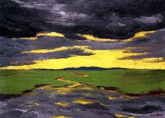Twilight, Emile Nolde - 1916