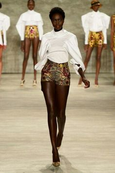 Editor's #Style Picks - #African inspired fashion on the runway. #ZenMagazine   http://zenmagazineafrica.com/  Fashion by David Tlale Page
