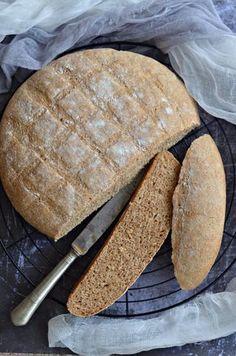 Egyszerű, bögrés, teljes kiőrlésű cipó – Rupáner-konyha Ring Cake, Vegetarian Recipes, Healthy Recipes, Bread Recipes, Baked Goods, Sandwiches, Paleo, Food And Drink, Sweets