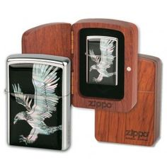 Mechero Zippo MD 251132 Águila.