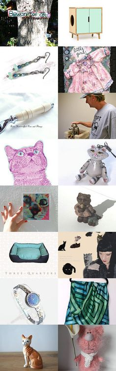 Meow and More! by Dianna Wood on Etsy--Pinned with TreasuryPin.com