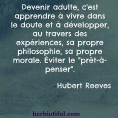 Citation Hubert Reeves