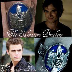 The Salvatore Brothers - Damon & Stefan Salvatore - TVD