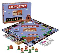 Monopoly Super Mario Bros Collectors Edition Board Game *** Learn more by visiting the image link.